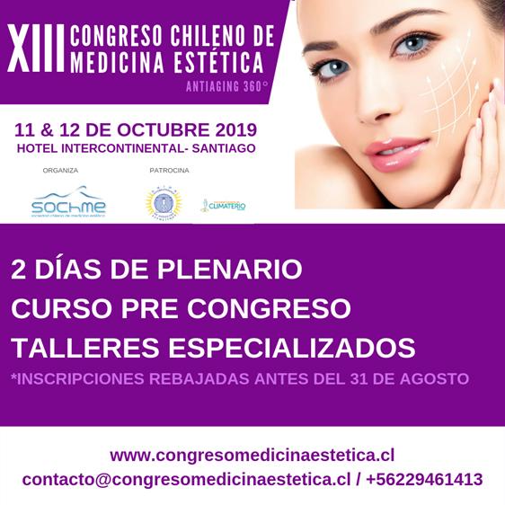 Congreso Chileno de Medicina Estética 2019