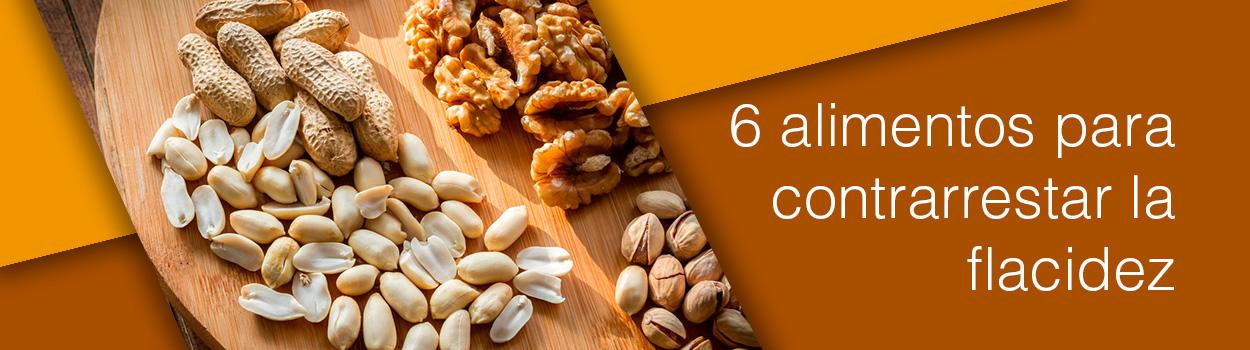 6 alimentos para contrarrestar la flacidez
