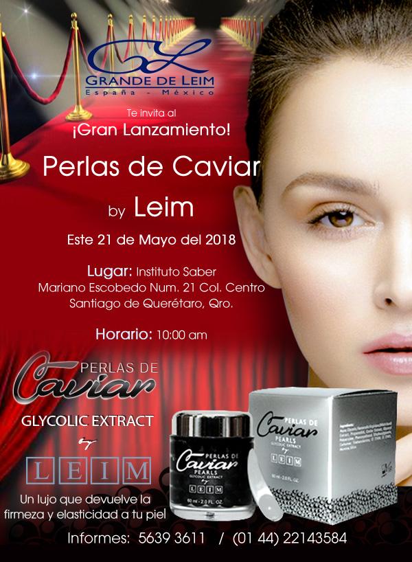 ¡Gran Lanzamiento! Perlas de Caviar by Leim