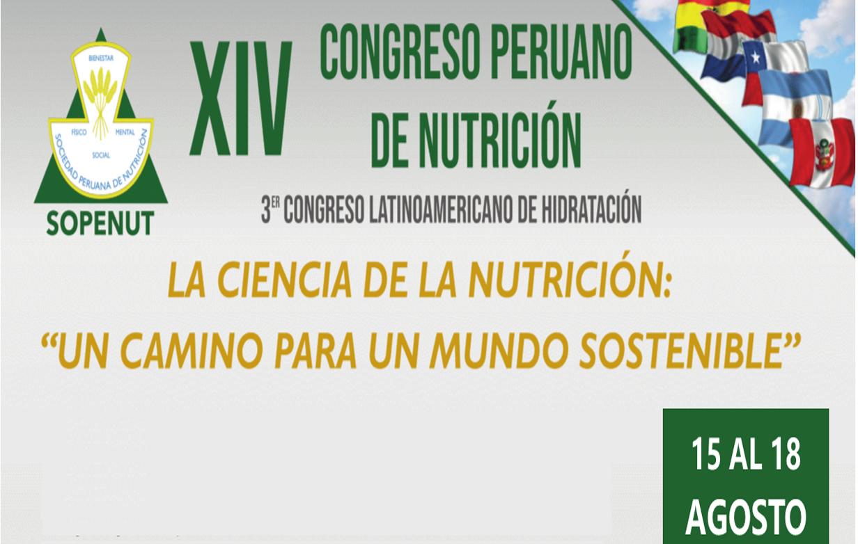 XIV Congreso Peruano de Nutrición