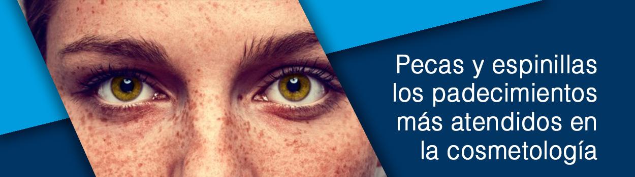 Pecas y espinillas los padecimientos más atendidos en la cosmetología