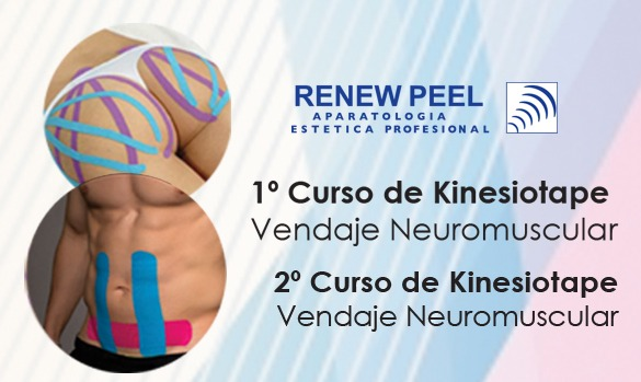 1º  y 2º Curso de Kinesiotape Ciudad de México