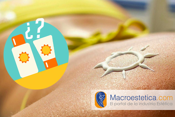 Químico, orgánico o mineral. ¿Qué tipo de filtro UV comprar?
