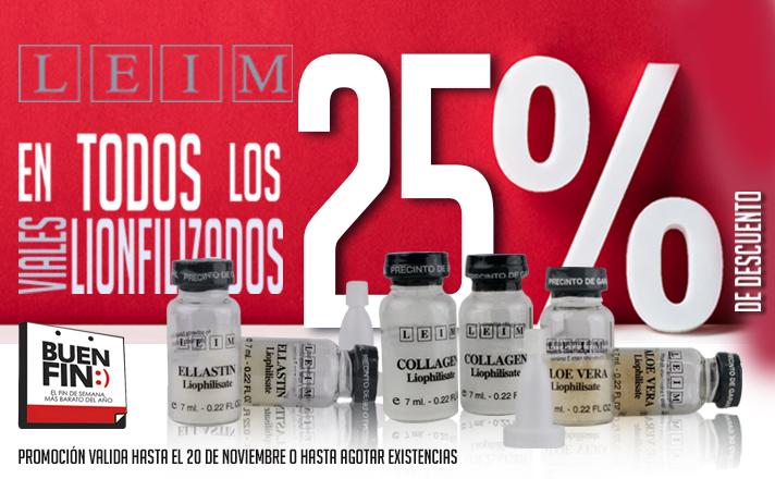 Buen Fin -25% Viales Liofilizados by Leim