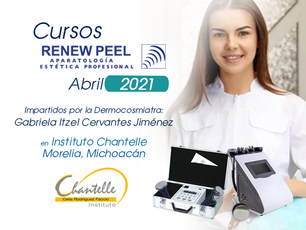 Cursos Renew Peel en Instituto Chantelle