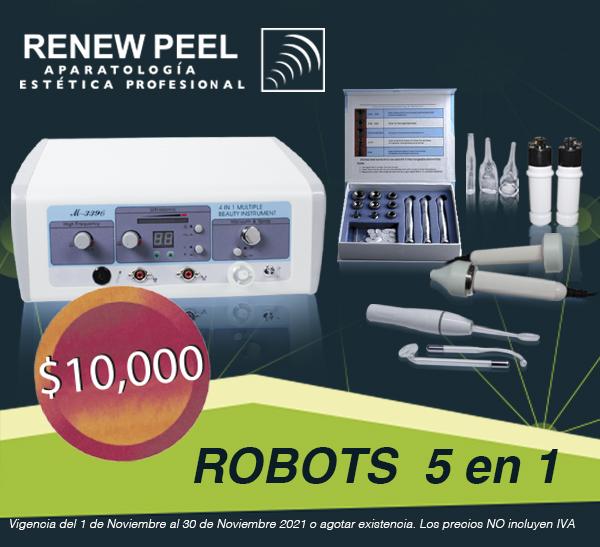 RENEW PEEL ROBOT 5 EN 1 NUEVO