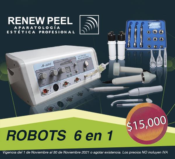 RENEW PEEL ROBOT 6 EN 1