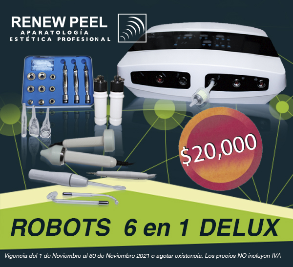 RENEW PEEL ROBOT 6 EN 1 DELUX