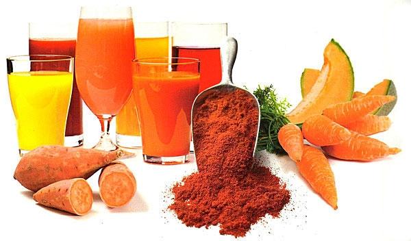 Importancia nutricional de los pigmentos carotenoides