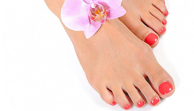 La cosmética en manicuras y pedicuras