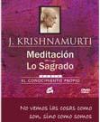 Meditación, lo sagrado