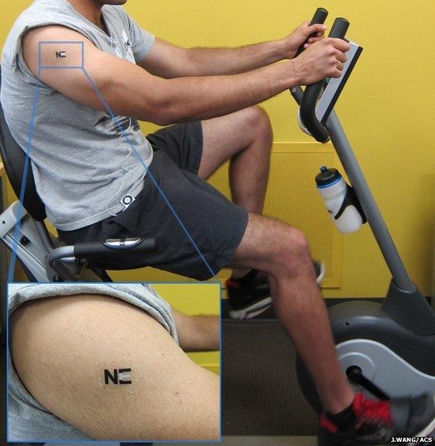 El tatuaje que convierte el sudor en energía