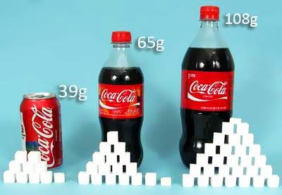 Periodista le muestra a presidente de Coca-Cola la increíble cantidad de azúcar que tienen sus bebidas
