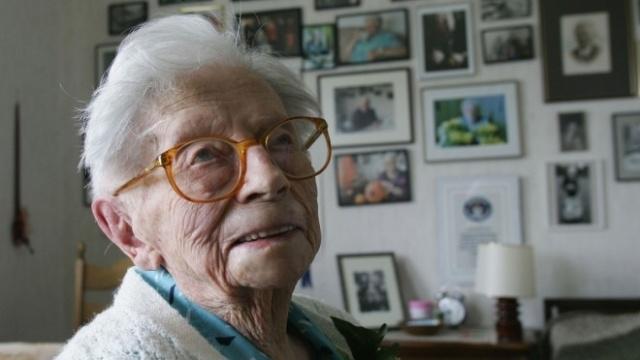 Encuentran el secreto de la longevidad en una señora de 115 años