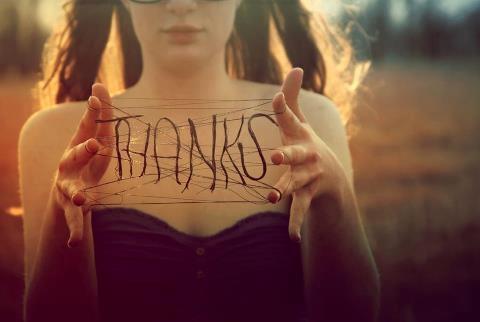 Agradecer hace a las personas más felices