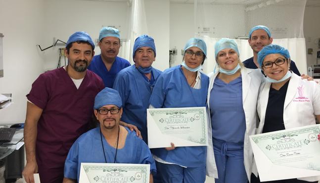 Se realizó con éxito el curso práctico de Terapia Celular en México