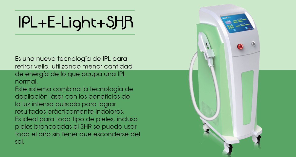 IPL+E-Light+SHR
