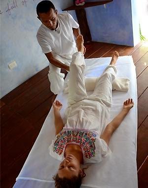 Masaje Maya Abdominal