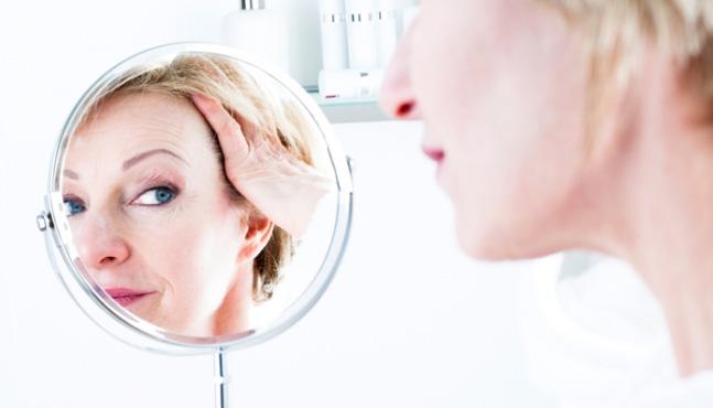 El estrés vs piel