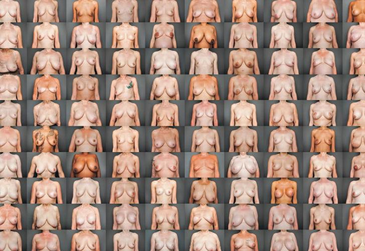 Proyecto fotográfico retrata los senos de 100 mujeres buscando enfrentar prejuicios
