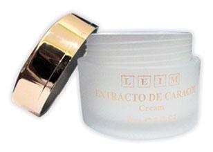 Crema de extracto de caracol