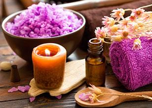 Aromaterapia en el gabinete de estética