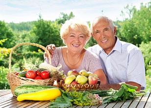 Combinación de comidas para reducir los efectos del envejecimiento