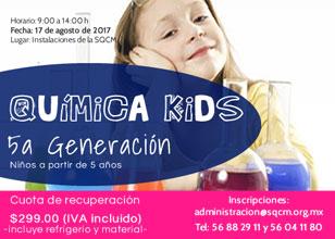 Curso de Verano Química Kids 5ta Generación
