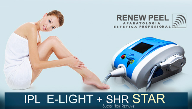 IPL E-LIGHT + SHR STAR