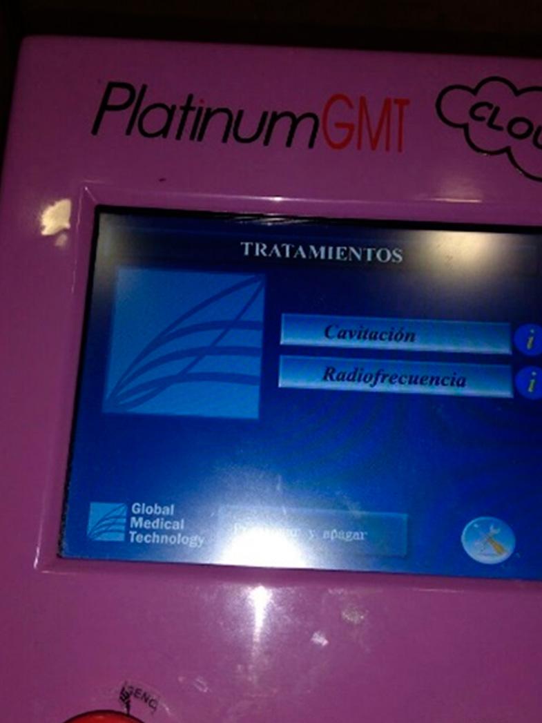 PLATINUM GMT™ CAVITATION + RF SYSTEM CLOUD