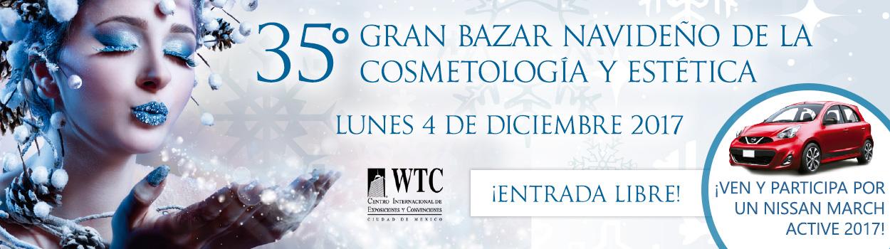 35 Gran Bazar Navideño de Cosmetología y Estética