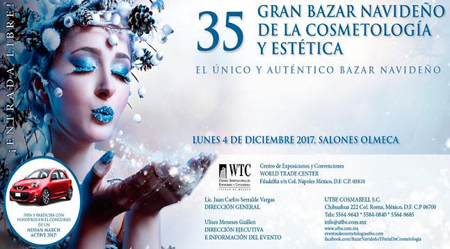 35° Gran Bazar Navideño de Cosmetología y Estética