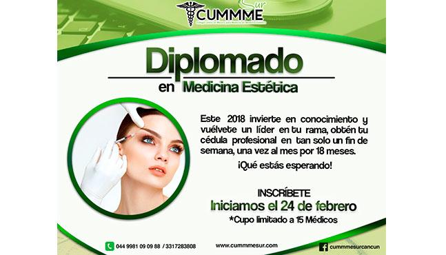 Diplomado/Maestría en Medicina Estética