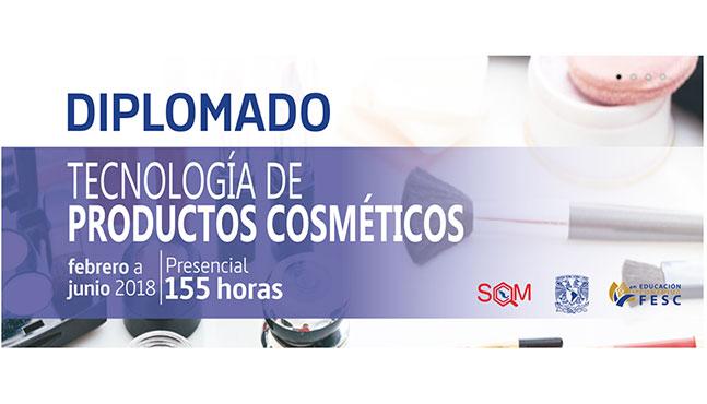 Diplomado Tecnología de Productos Cosméticos