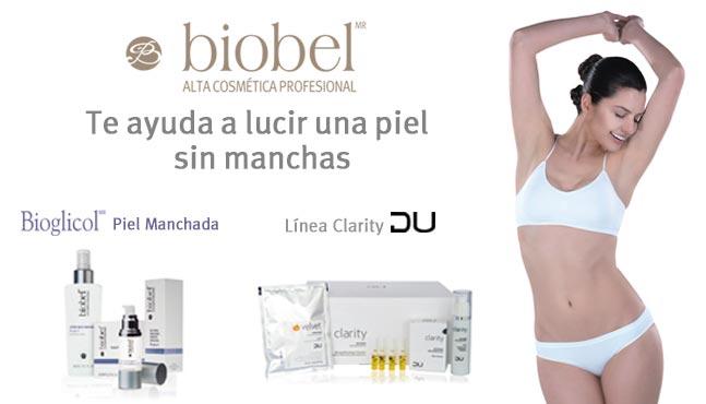 Tratamiento para piel manchada por Biobel