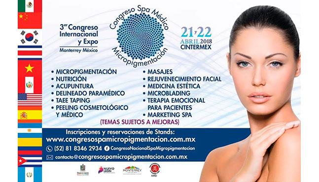 Congreso Internacional SPA, Médico y Micropigmentación 2018