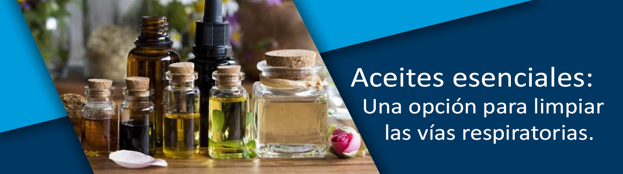 Aceites esenciales: Una opción para limpiar las vías respiratorias