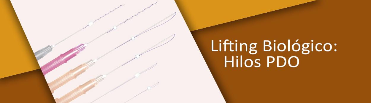 Lifting biológico: Hilos PDO