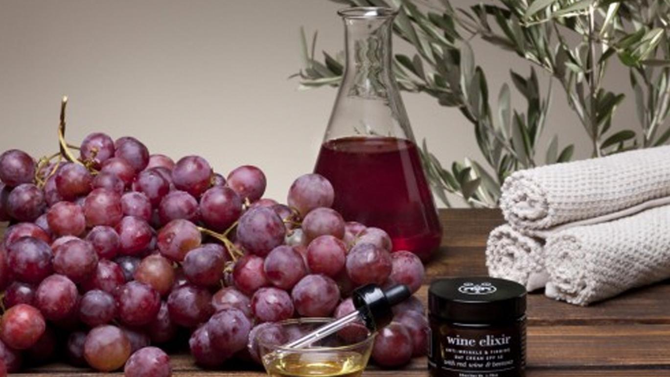 Beneficios de la vinoterapia en  la piel
